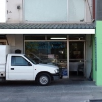 Shop with mezzanine on a main road in Larnaca for sale with a yearly rent income 3360euros