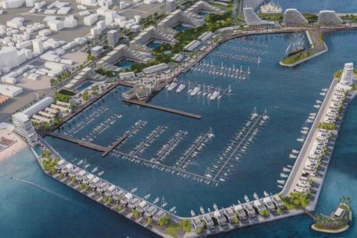 Billion euros from the development of the port-marina of Larnaca