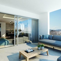A New Residential Building of 4 x 2 Bedroom Apartments in Larnaca City Center
